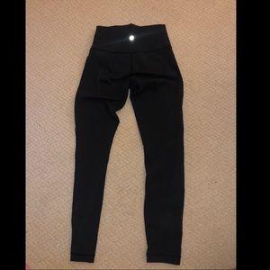 Lululemon Black 7/8 leggings